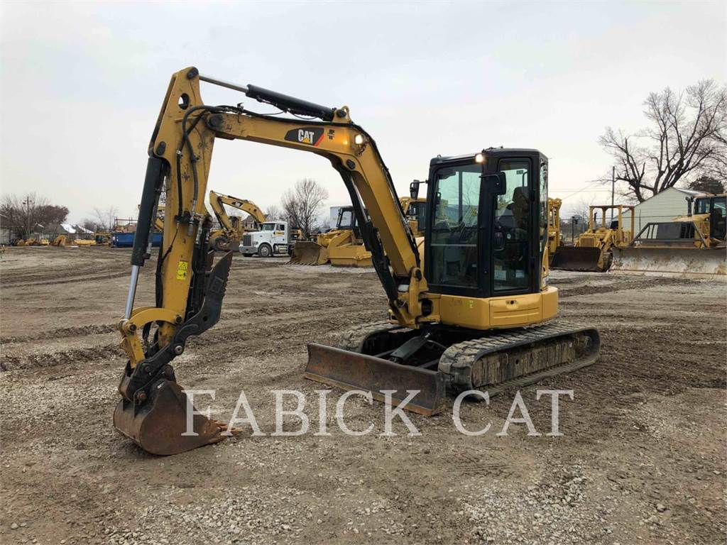 Caterpillar 305.5E2CR, Crawler Excavators, Construction