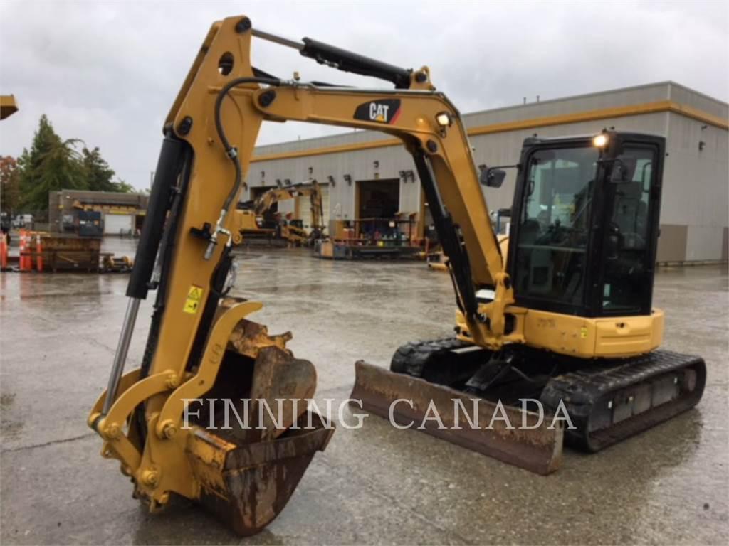 Caterpillar 305.5E2CR, Excavatoare pe senile, Constructii