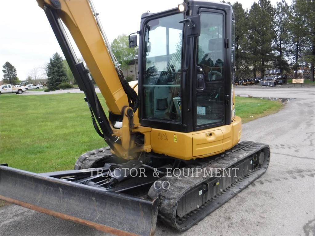Caterpillar 305.5E2CRB, Crawler Excavators, Construction