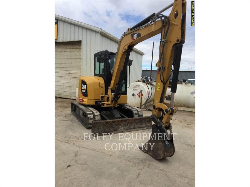 Caterpillar 305.5E2LC, Crawler Excavators, Construction