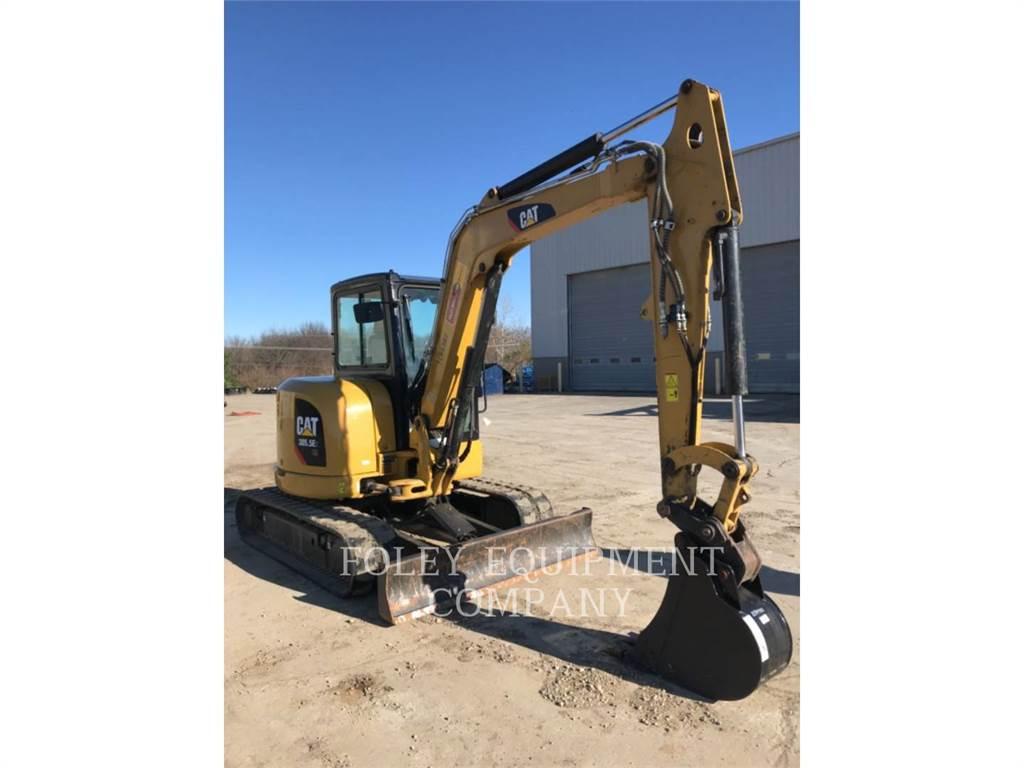 Caterpillar 305.5E2LC、履带挖掘机、建筑设备