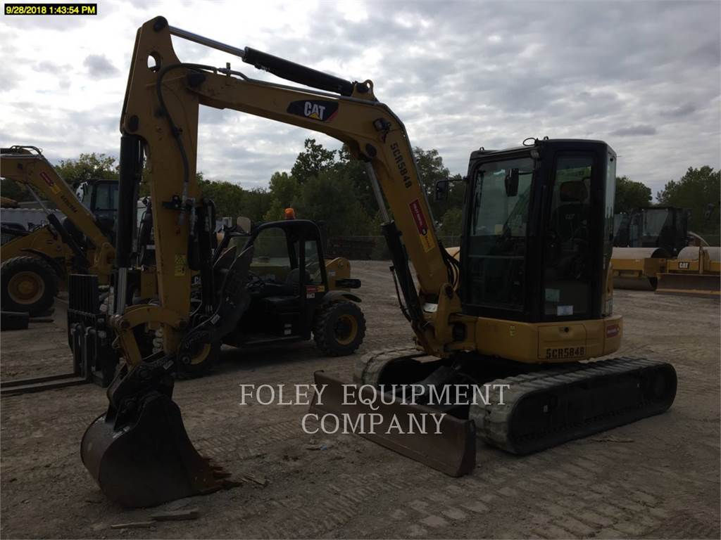 Caterpillar 305.5E2LC, Crawler Excavators, Construction