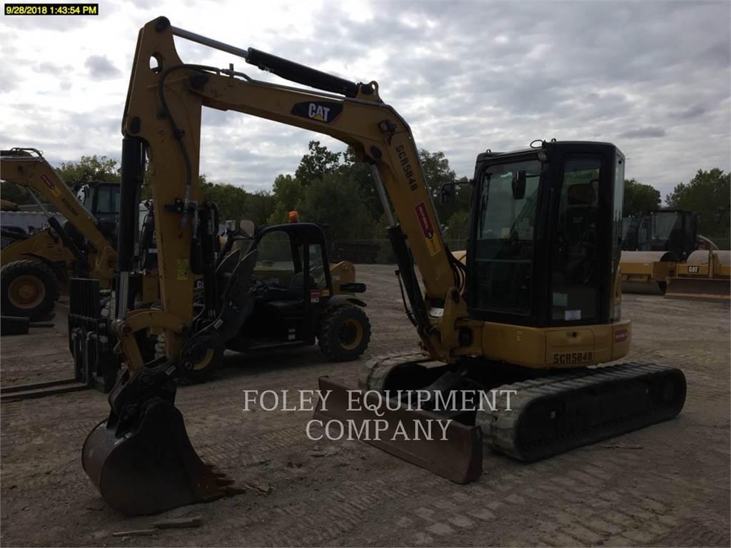 Caterpillar 305.5E2LC, Raupenbagger, Bau-Und Bergbauausrüstung