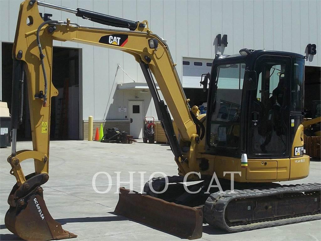 Caterpillar 305.5ECR, Koparki gąsienicowe, Sprzęt budowlany