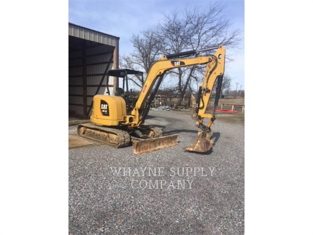 Caterpillar 305.5ECR, Excavadoras de cadenas, Construcción