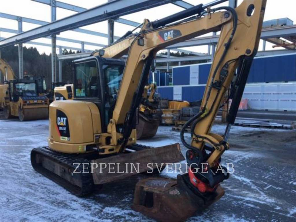 Caterpillar 305.5ECR, Crawler Excavators, Construction