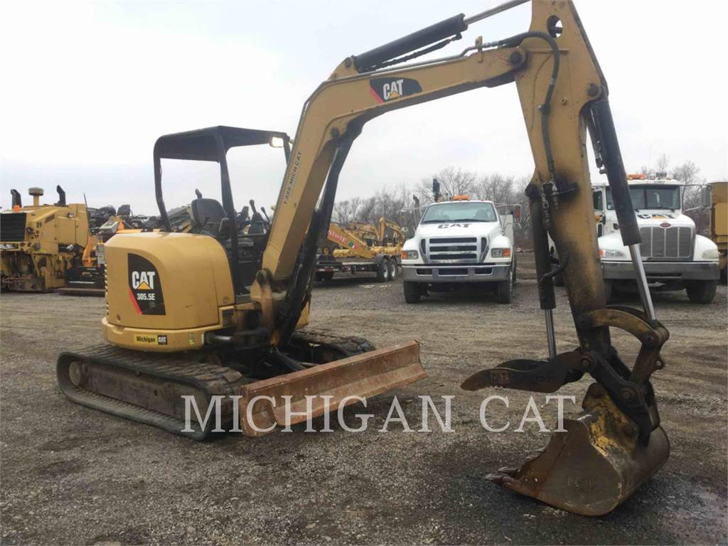 Caterpillar 305.5ECR TQ, Raupenbagger, Bau-Und Bergbauausrüstung