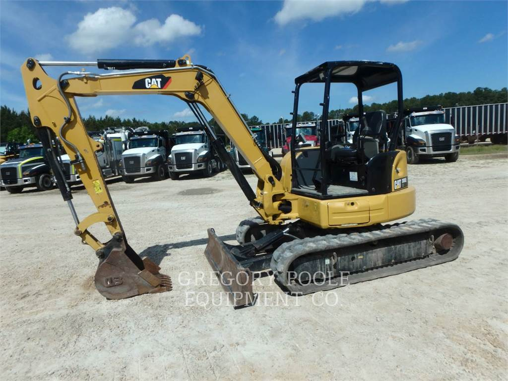 Caterpillar 305 CR, Rupsgraafmachines, Bouw