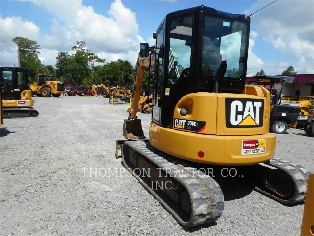 Caterpillar 305 E2 CR, Koparki gąsienicowe, Sprzęt budowlany