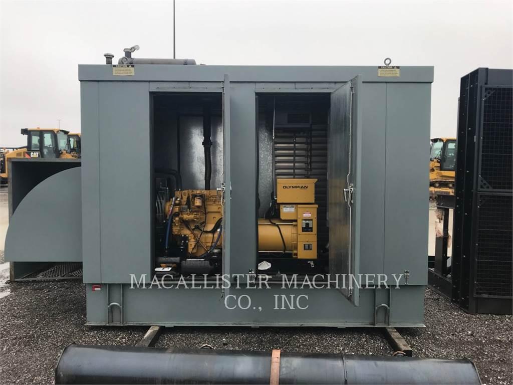 Caterpillar 3054C, Seturi de Generatoare Diesel, Constructii