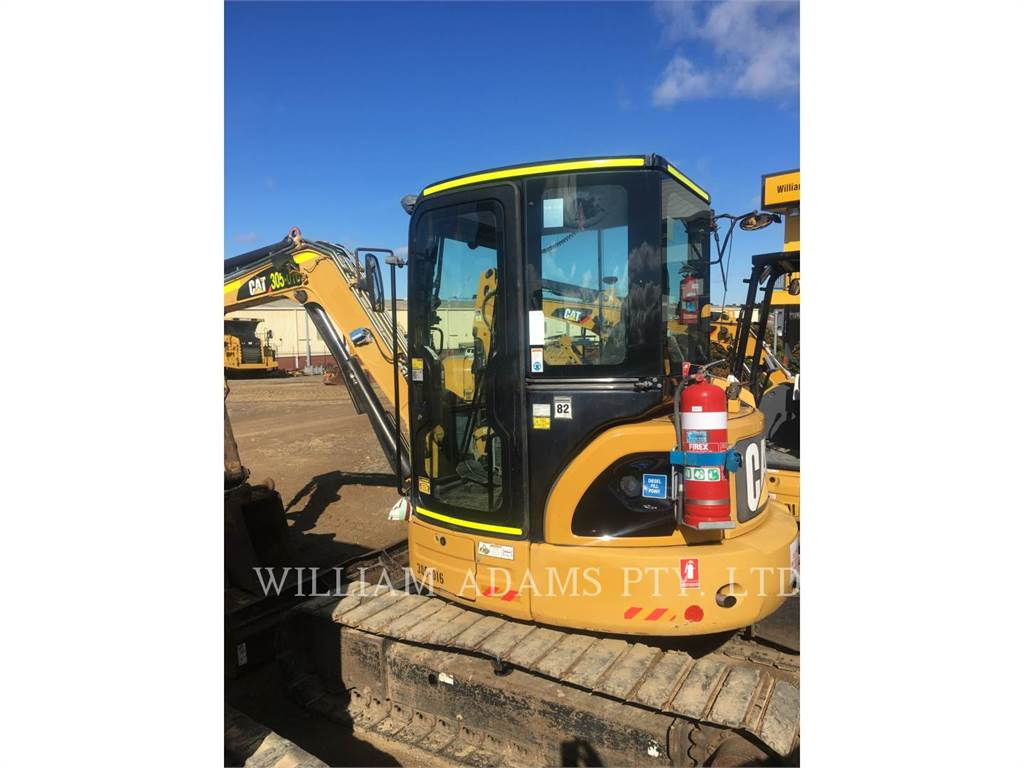 Caterpillar 305DCR, Crawler Excavators, Construction