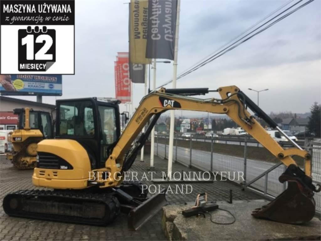 Caterpillar 305DCR, Crawler Excavators, Construction