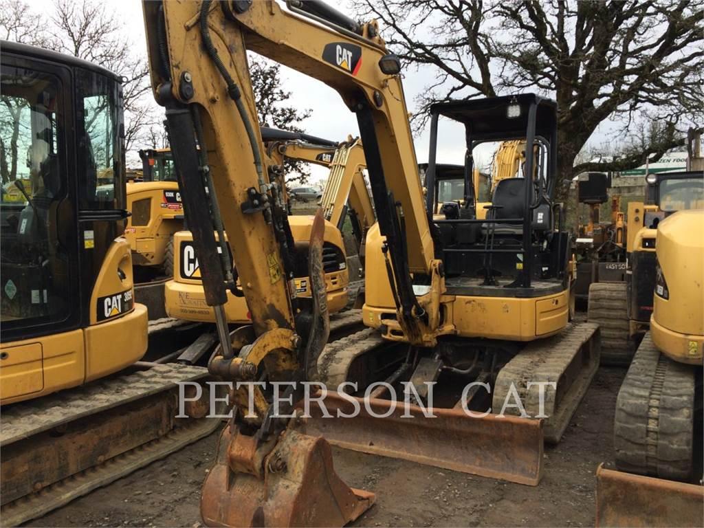 Caterpillar 305E CR, Excavatoare pe senile, Constructii