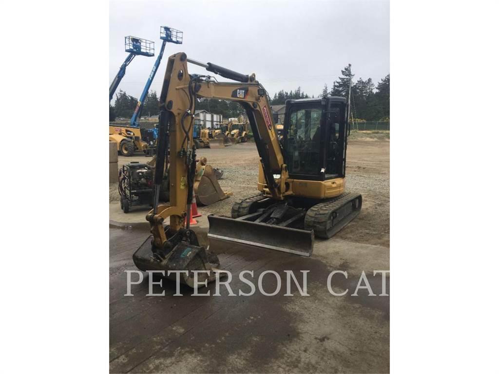 Caterpillar 305E2, Excavadoras de cadenas, Construcción
