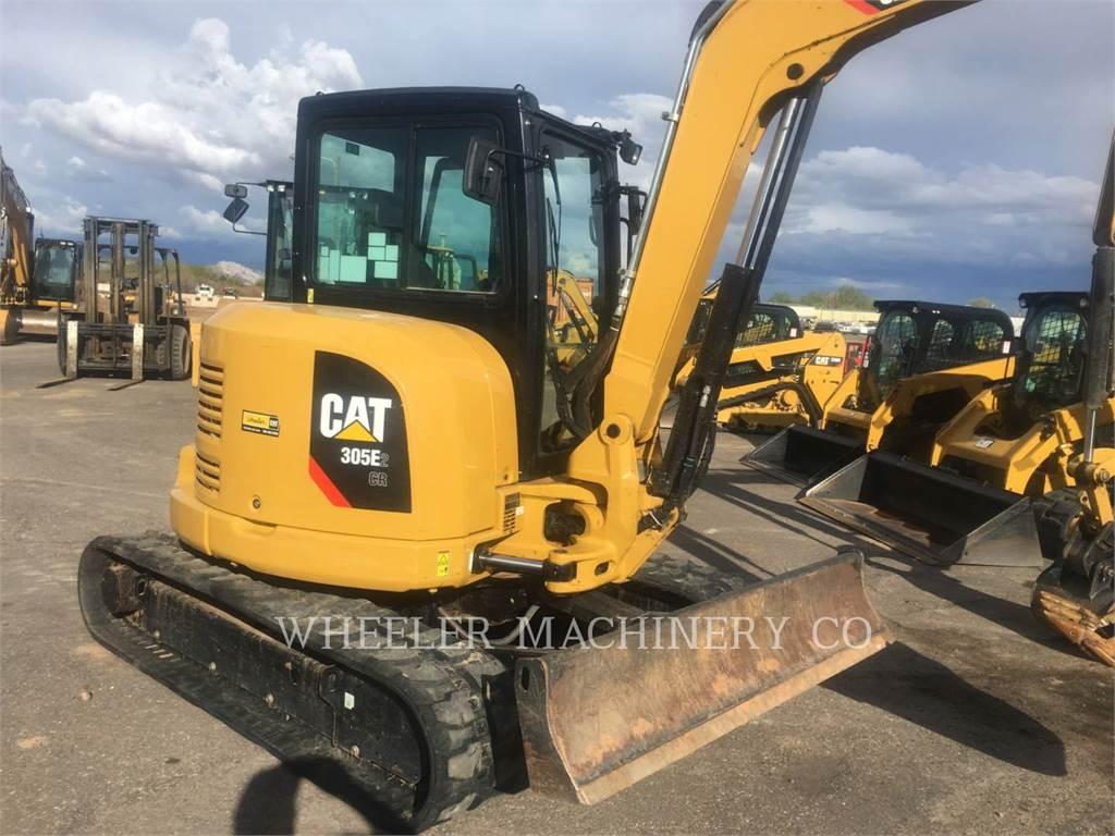Caterpillar 305E2 C3, Crawler Excavators, Construction