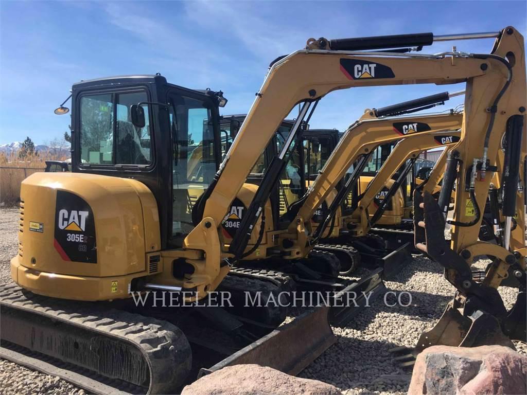 Caterpillar 305E2 C3TH, Excavadoras de cadenas, Construcción