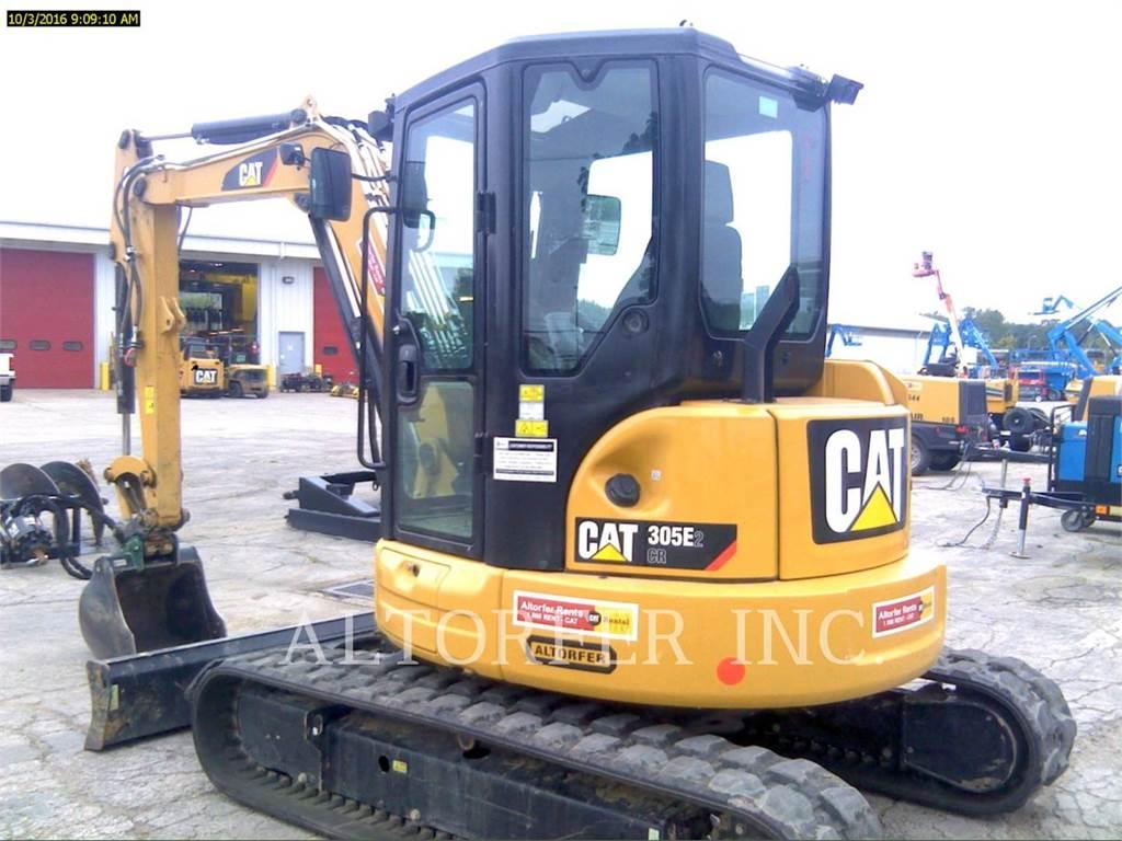 Caterpillar 305E2 CR-, Excavadoras de cadenas, Construcción