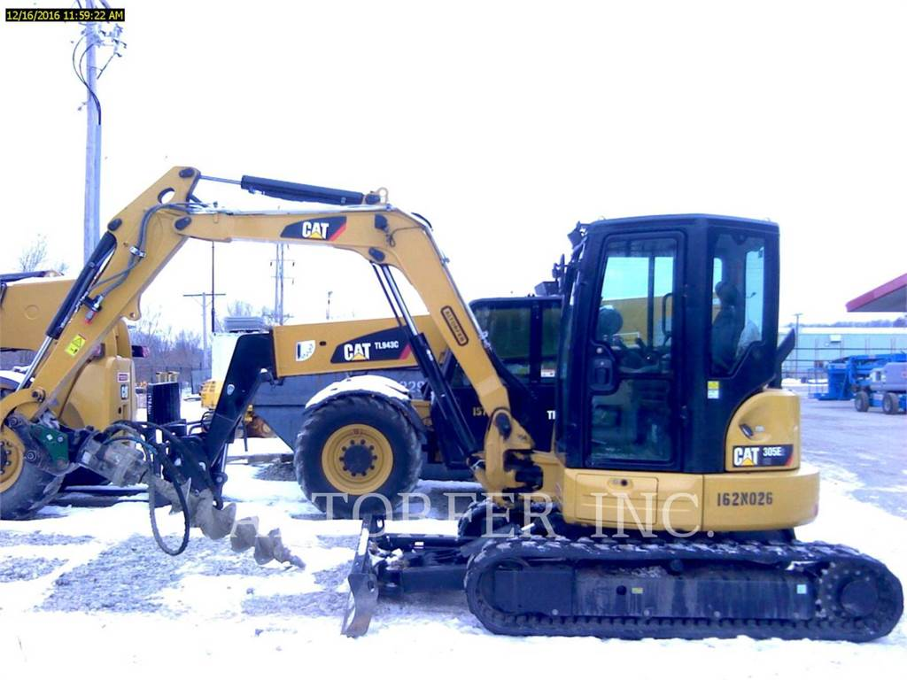 Caterpillar 305E2 CR, Crawler Excavators, Construction