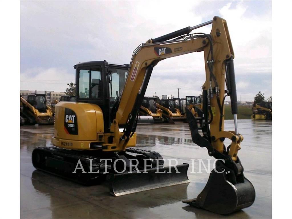 Caterpillar 305E2 CR-, Crawler Excavators, Construction