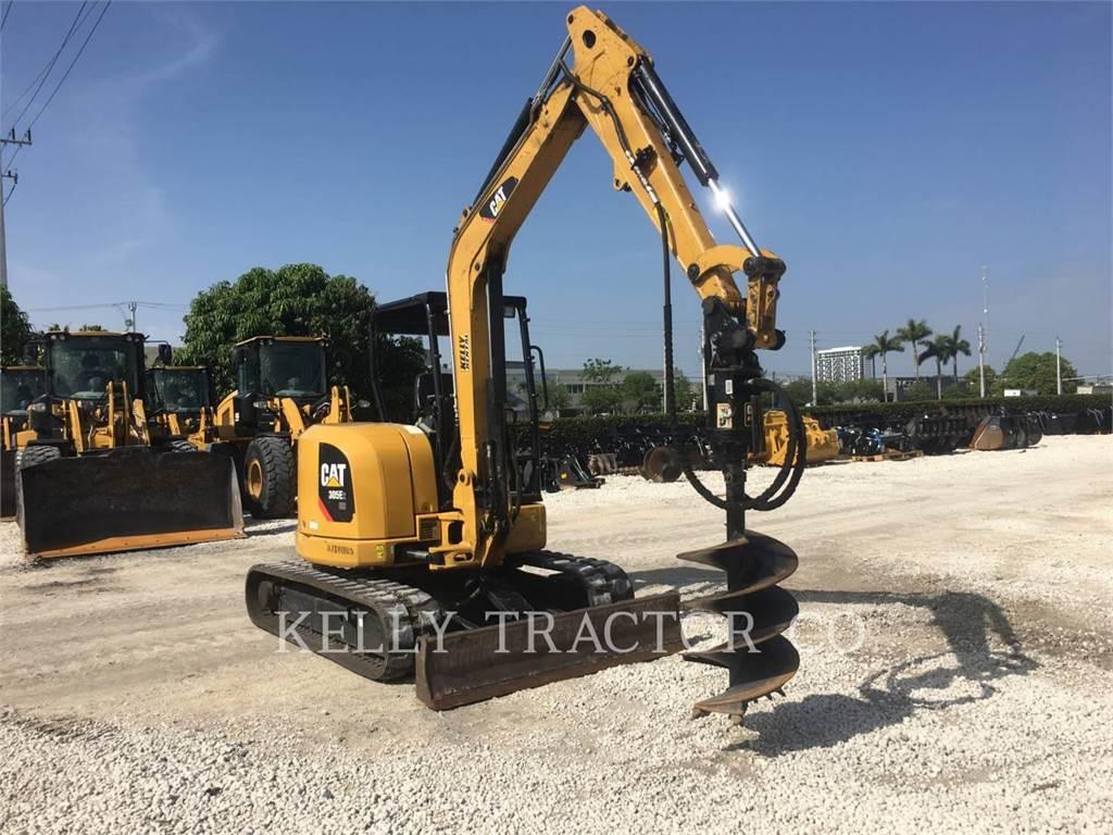 Caterpillar 305E2CR, Excavadoras de cadenas, Construcción