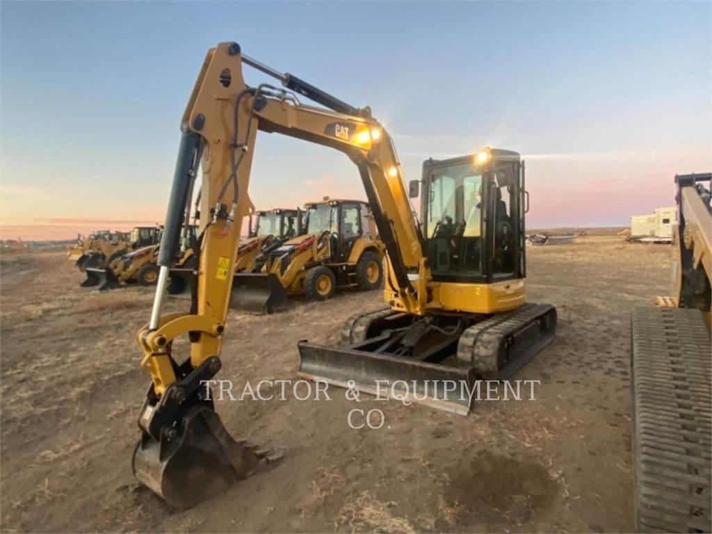Caterpillar 305E2CR, Koparki gąsienicowe, Sprzęt budowlany