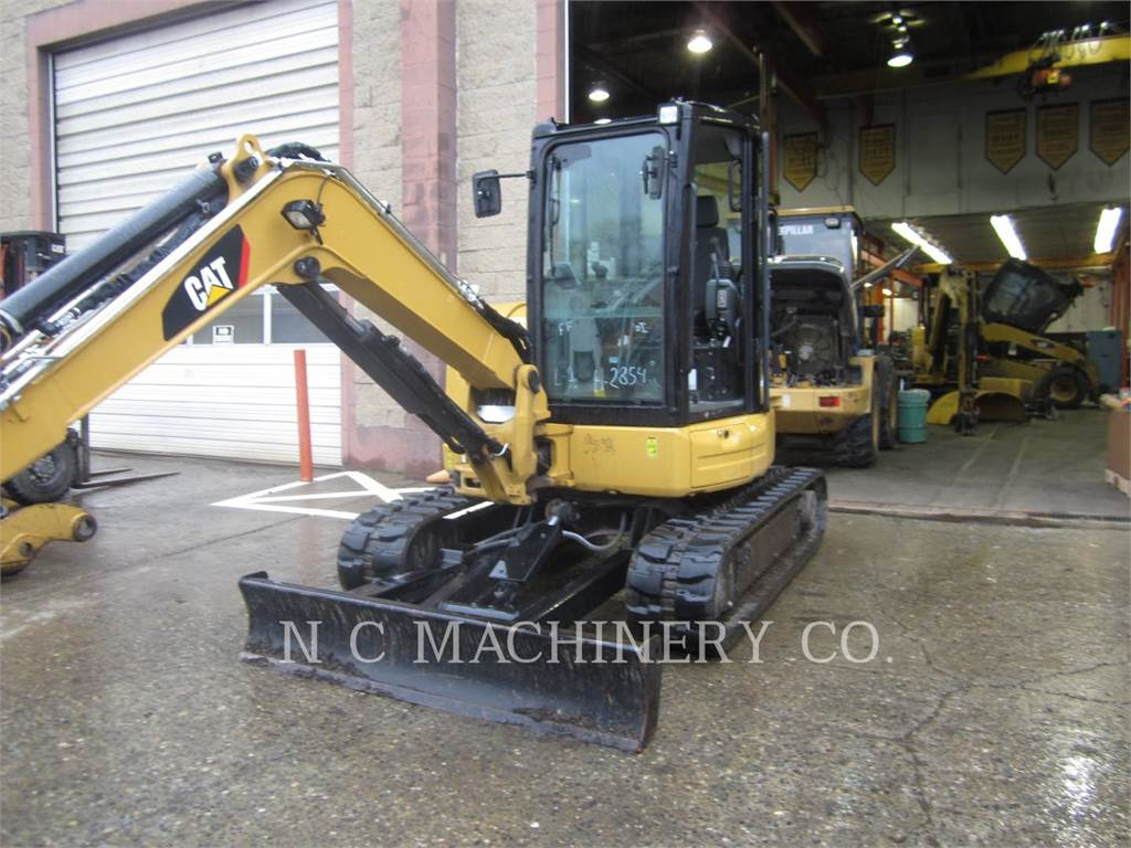 Caterpillar 305E2CR, Escavadoras de rastos, Equipamentos Construção