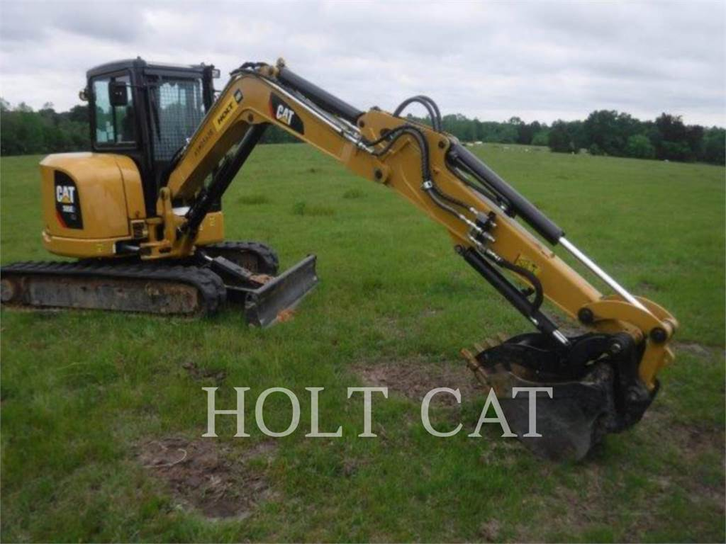 Caterpillar 305E2CR, Rupsgraafmachines, Bouw