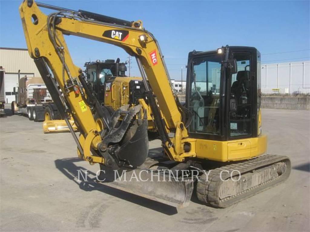 Caterpillar 305E2CR, Excavatoare pe senile, Constructii