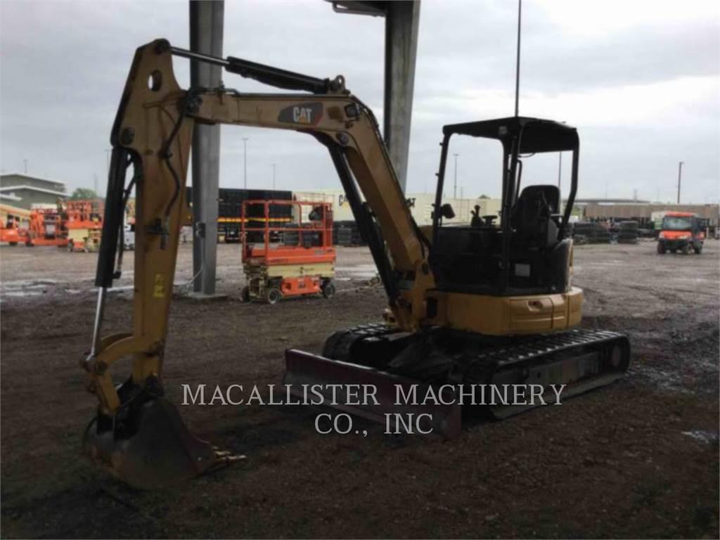 Caterpillar 305E2CR、クローラー式油圧ショベル(パワーショベル・ユンボ)、建設