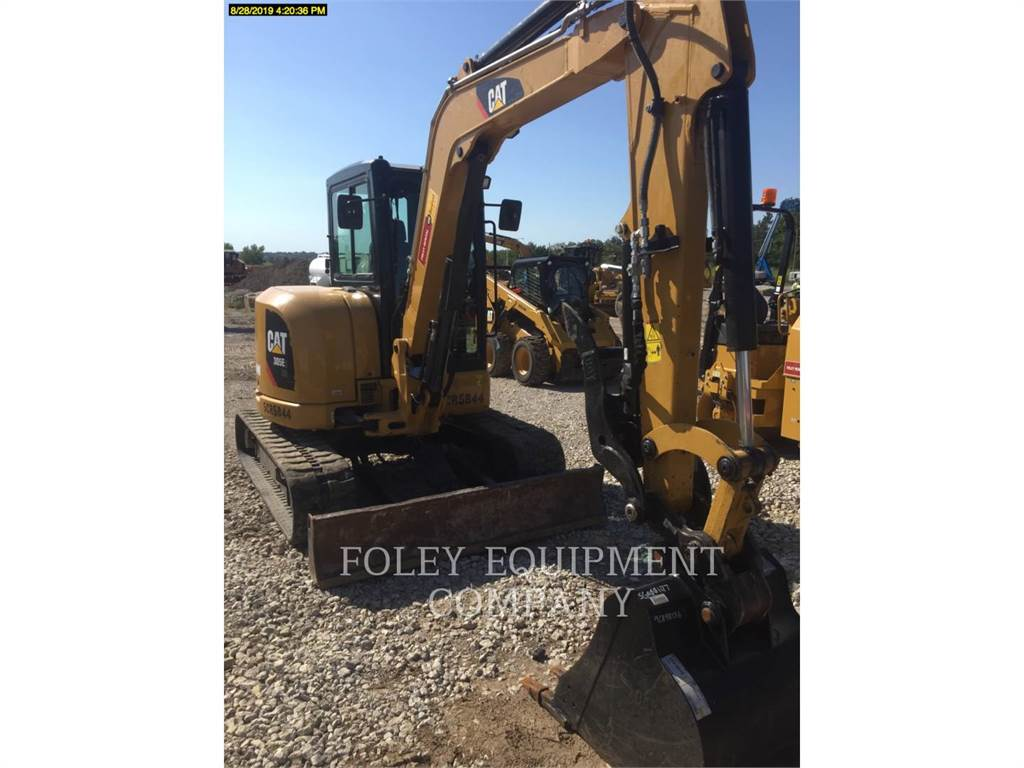 Caterpillar 305E2LC, Crawler Excavators, Construction