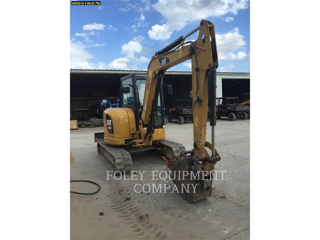 Caterpillar 305ECR, Excavadoras de cadenas, Construcción