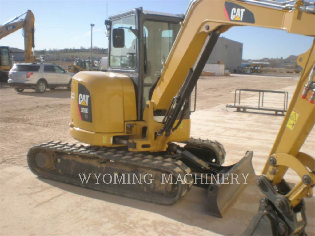 Caterpillar 305ECR, Crawler Excavators, Construction