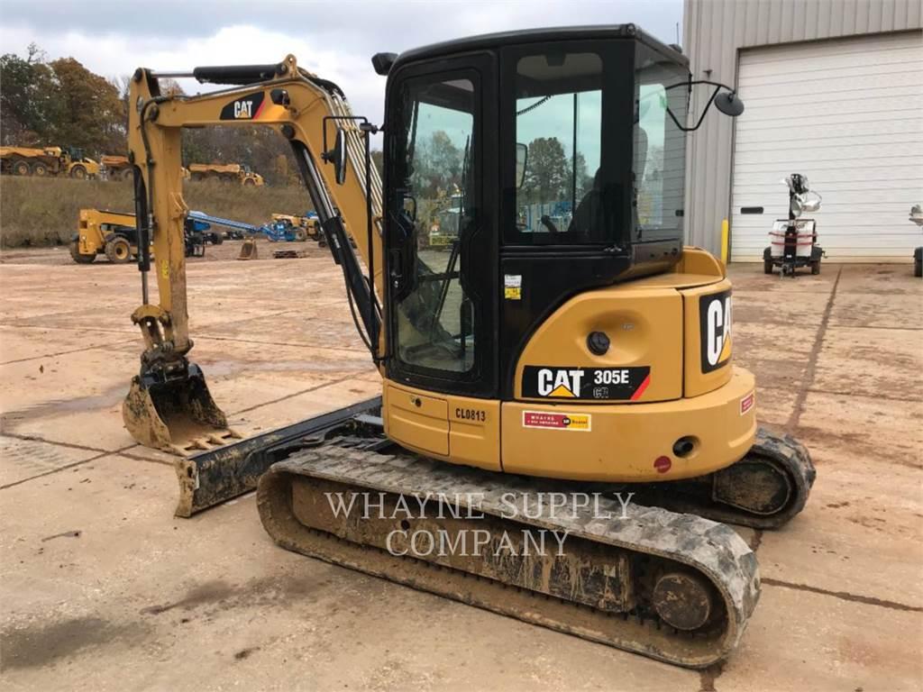 Caterpillar 305ECR, Excavatoare pe senile, Constructii