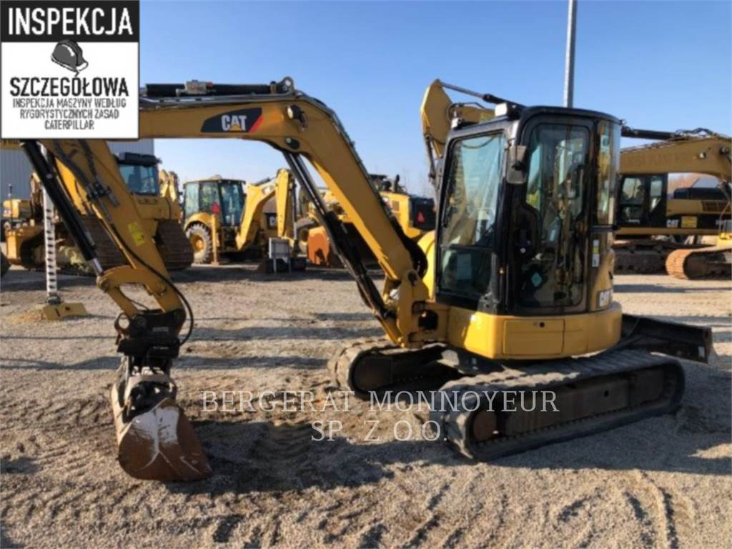 Caterpillar 305ECR, Escavadoras de rastos, Equipamentos Construção