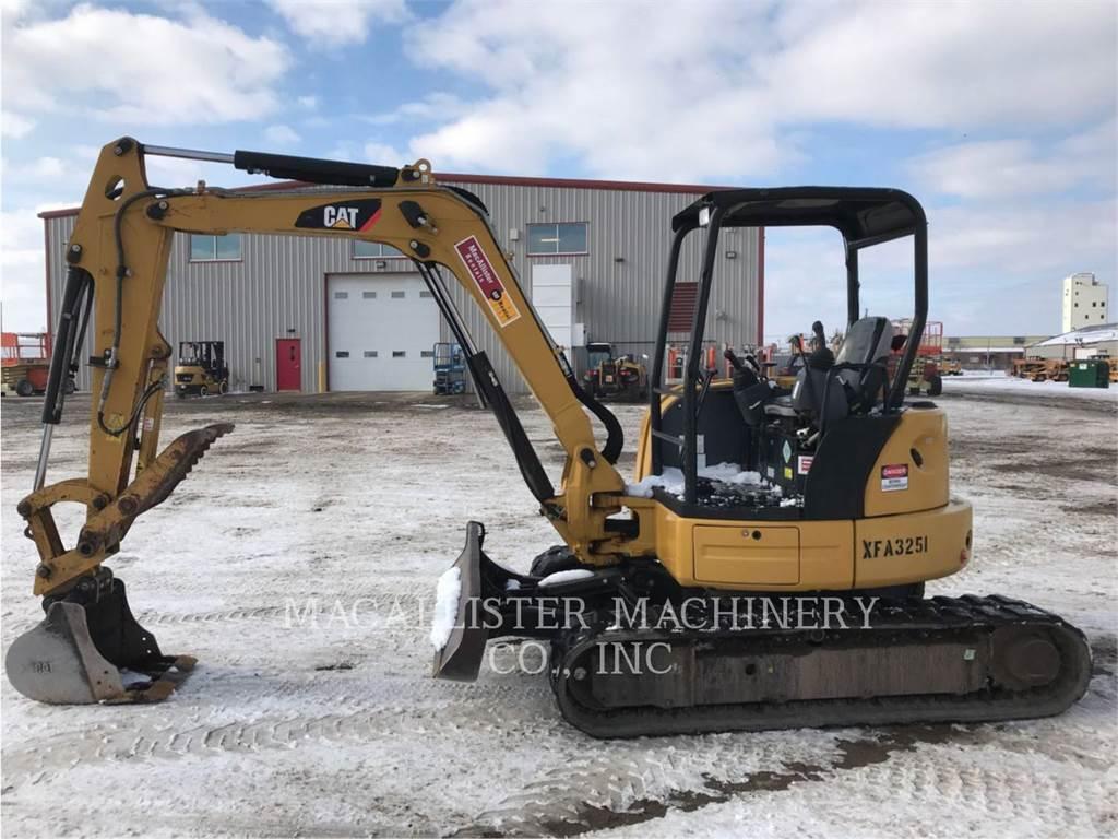 Caterpillar 305ECR, Pelle sur chenilles, Équipement De Construction
