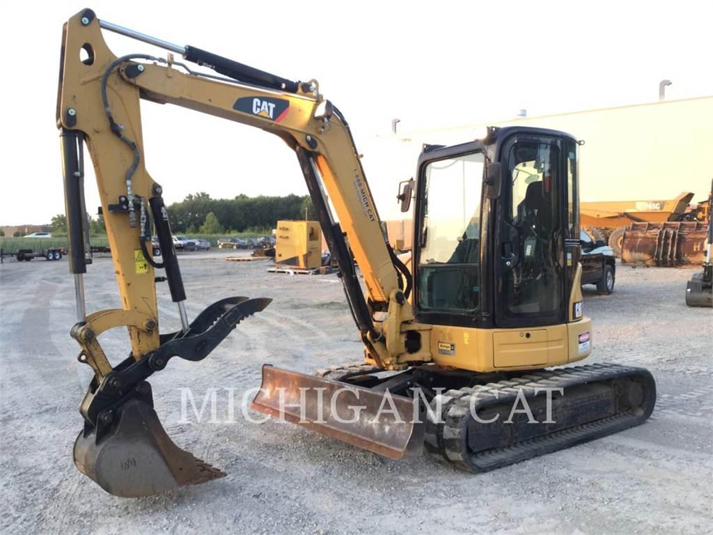 Caterpillar 305ECR ATQ, Crawler Excavators, Construction