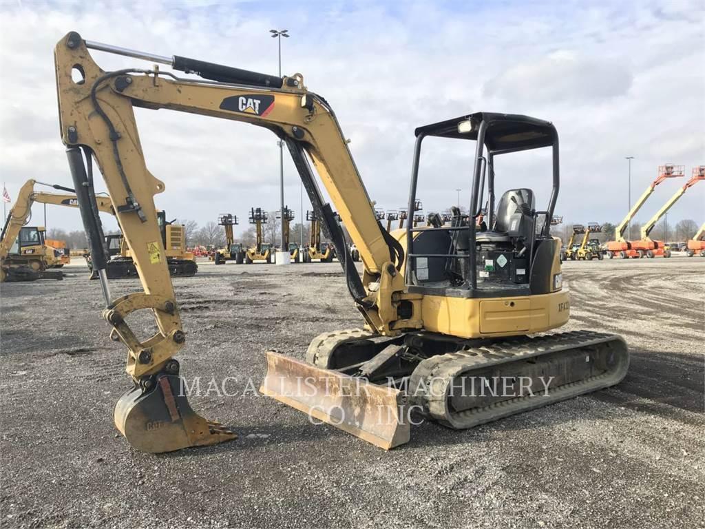 Caterpillar 305ECR、クローラー式油圧ショベル(パワーショベル・ユンボ)、建設