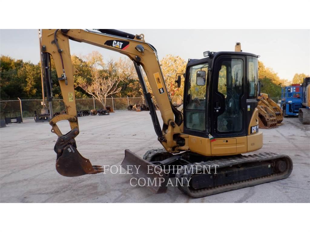 Caterpillar 305ECRLC, Excavatoare pe senile, Constructii