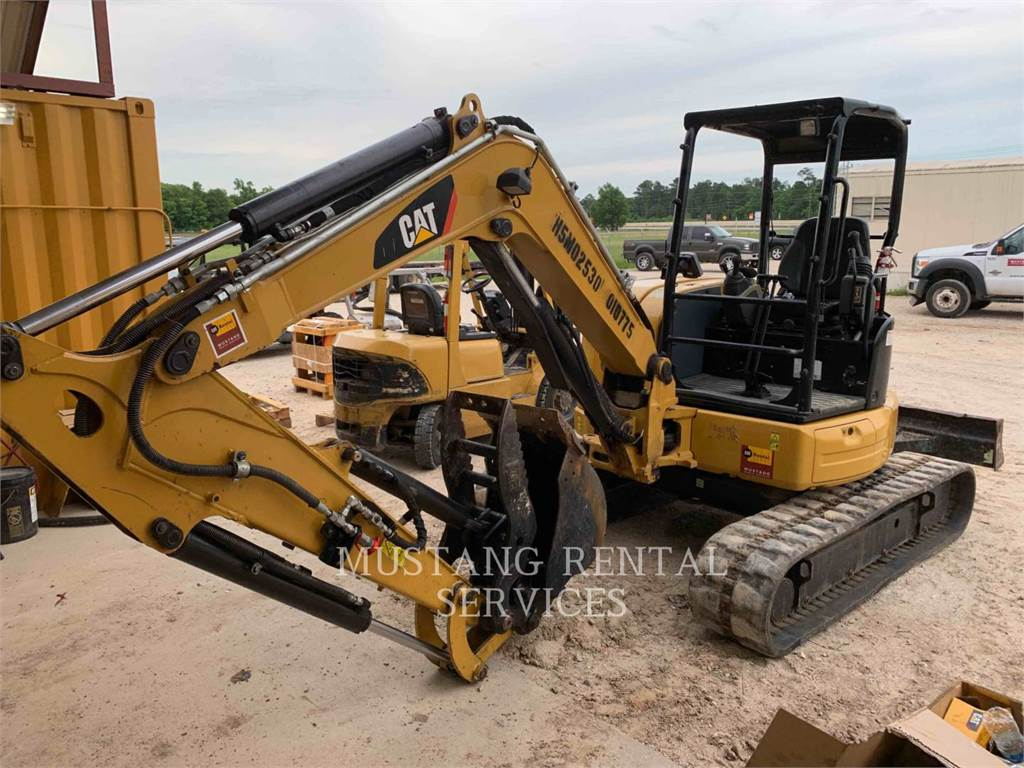 Caterpillar 305HYDTH, Excavatoare pe senile, Constructii