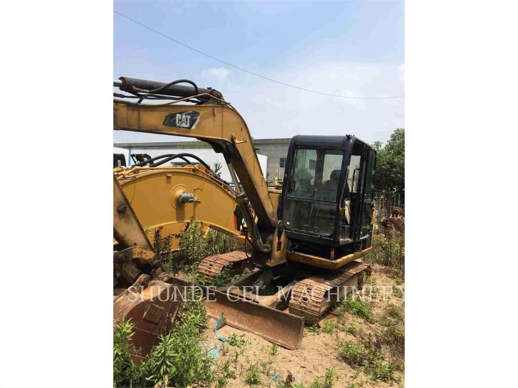 Caterpillar 306, Excavatoare pe senile, Constructii