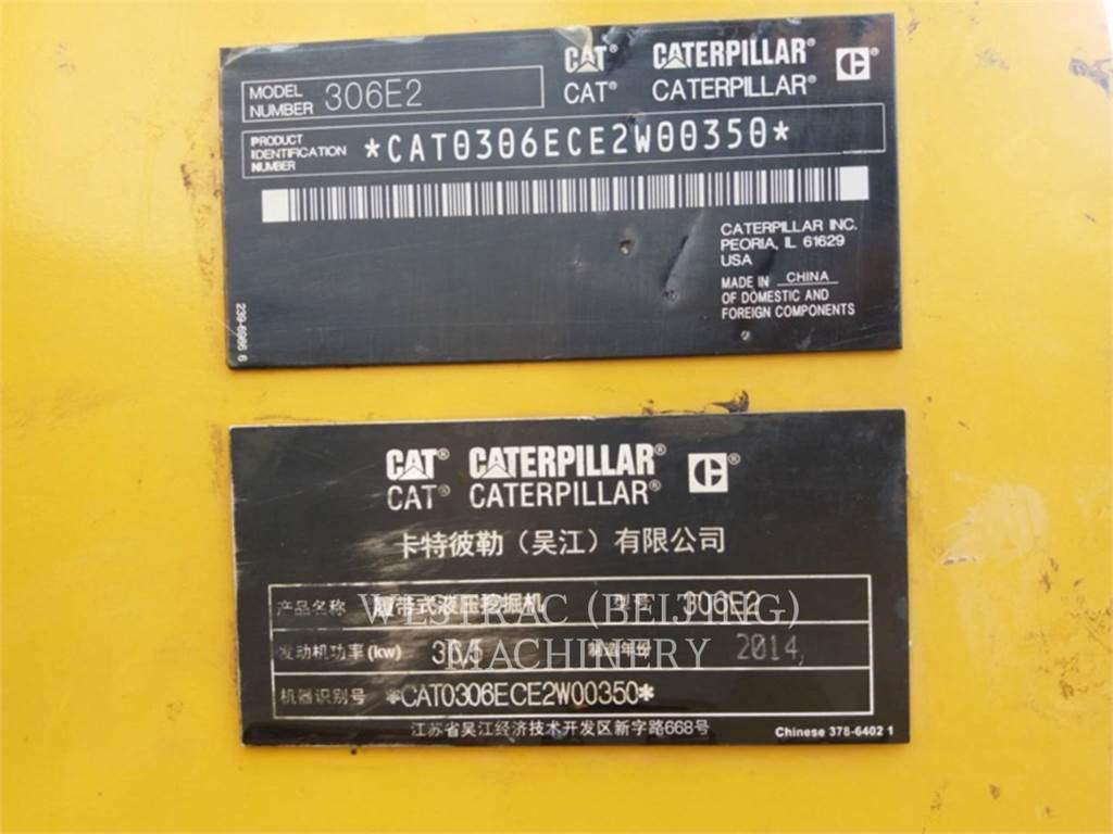 Caterpillar 306E2, Koparki gąsienicowe, Sprzęt budowlany