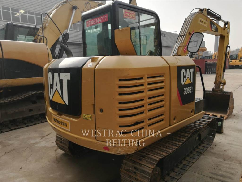 Caterpillar 306E2, Crawler Excavators, Construction