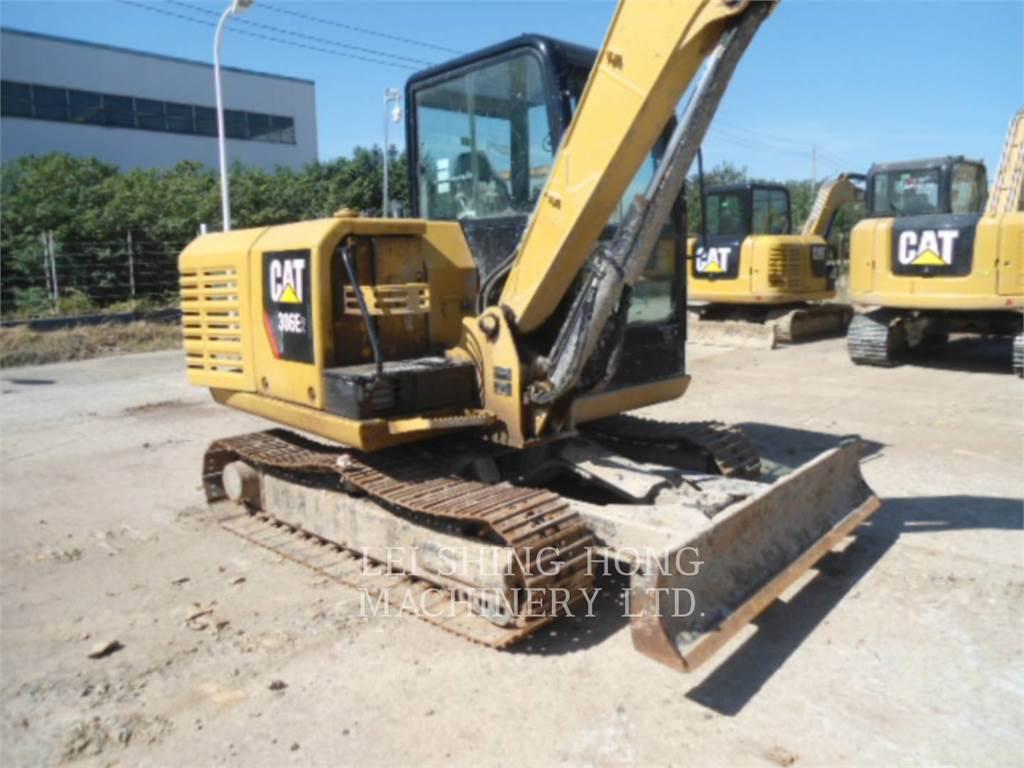 Caterpillar 306E2, Escavadoras de rastos, Equipamentos Construção