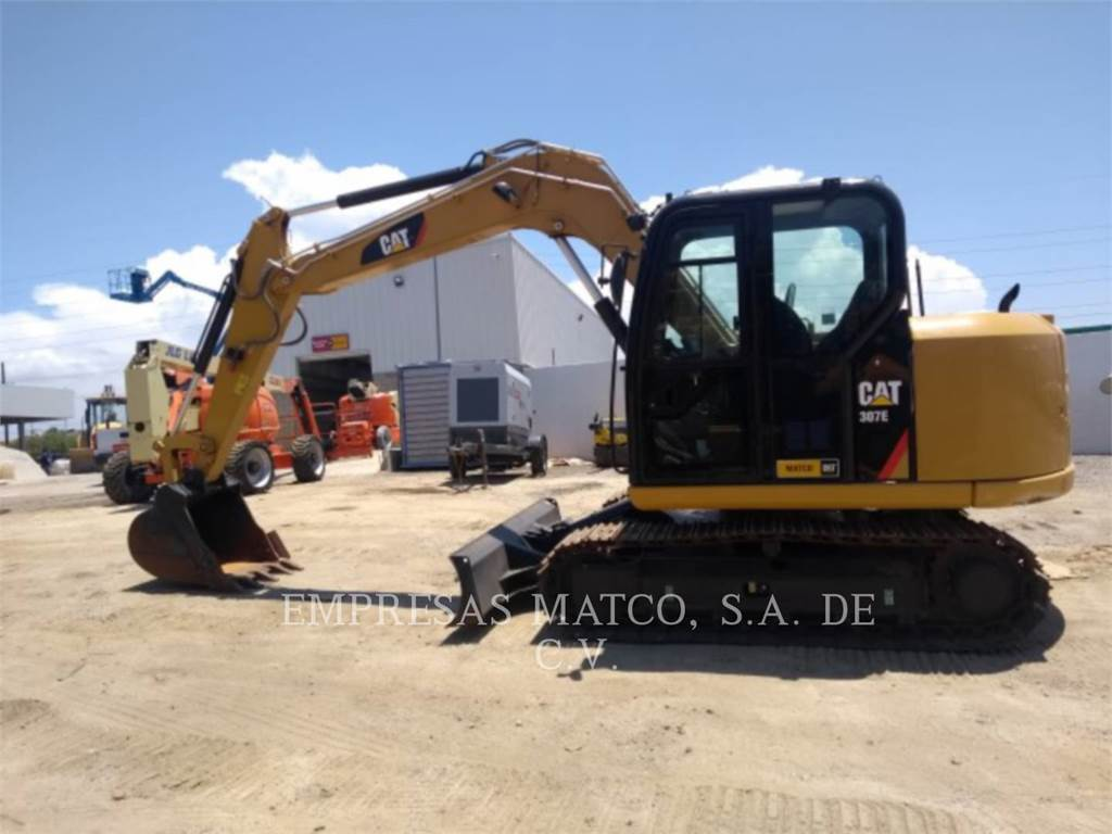 Caterpillar 307 E, Crawler Excavators, Construction