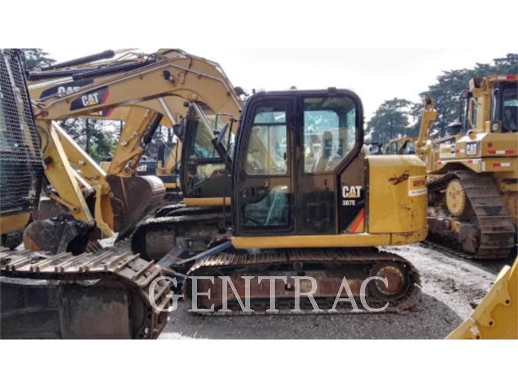 Caterpillar 307E, Crawler Excavators, Construction