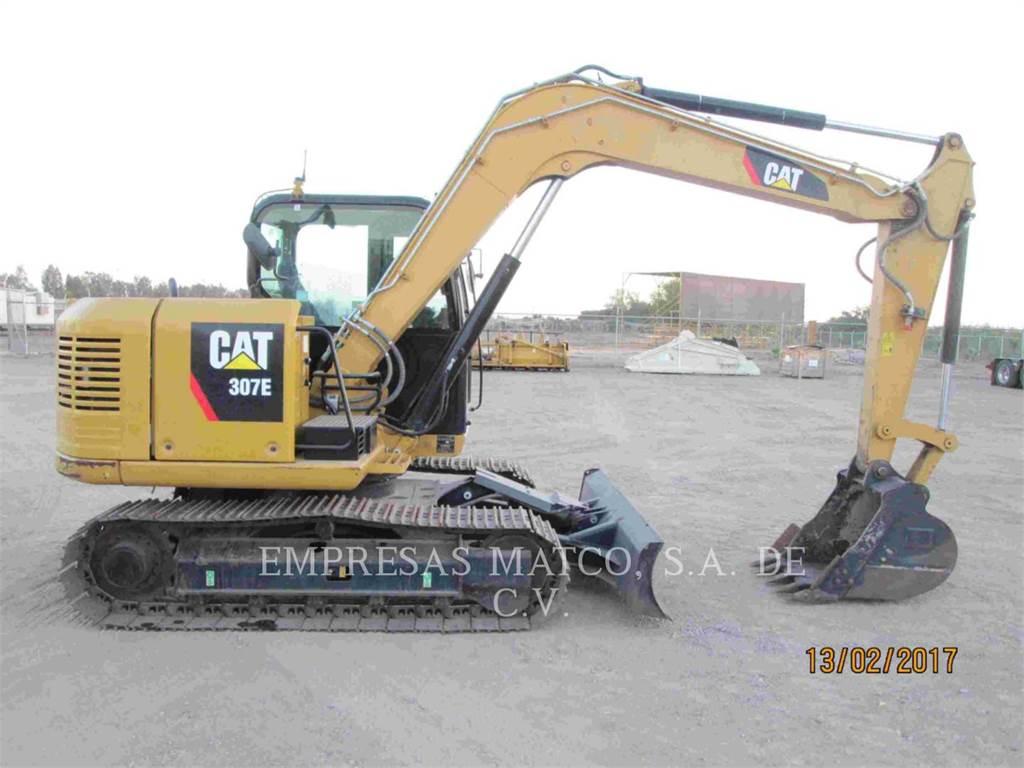 Caterpillar 307E, Pelle sur chenilles, Équipement De Construction