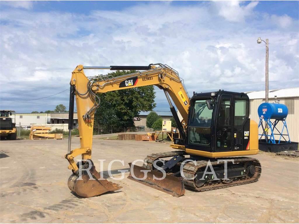 Caterpillar 307E, Escavadoras de rastos, Equipamentos Construção