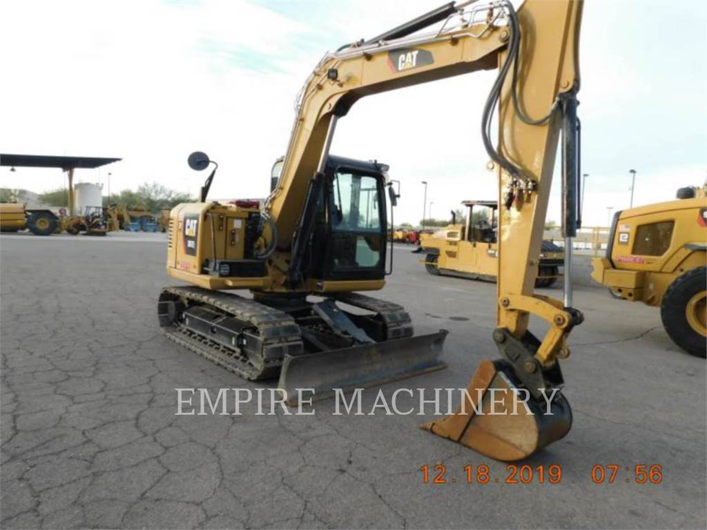 Caterpillar 307E2, Crawler Excavators, Construction