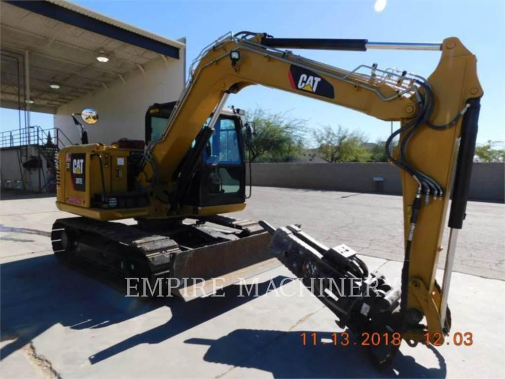 Caterpillar 307E2, Koparki gąsienicowe, Sprzęt budowlany
