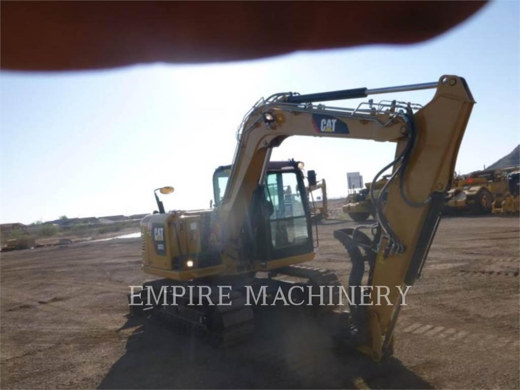 Caterpillar 307E2, Excavatoare pe senile, Constructii